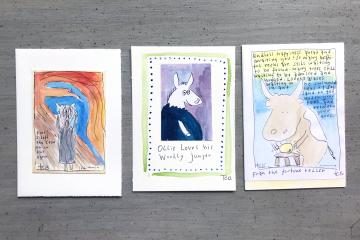 Illustrationer av Titti Erksell Barker